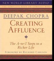 Creating Affluence (Audio CD)