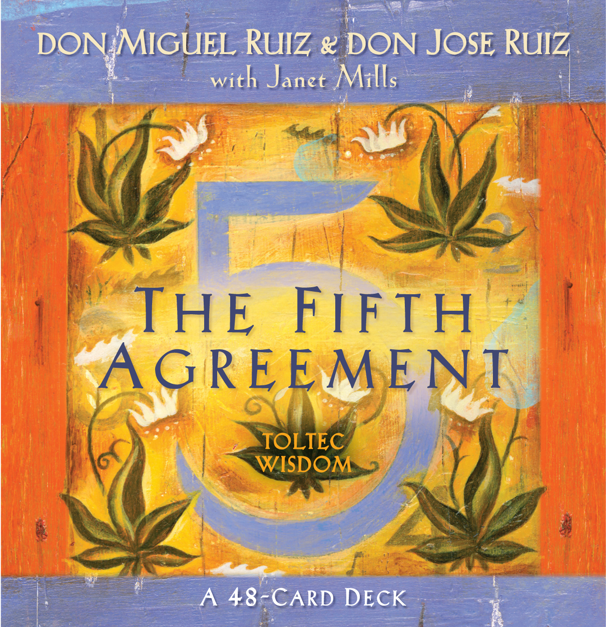 Amber Allen Publishing The Fifth Agreement Card Deck